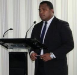 Manager CPD, Mr Meli Vosawale