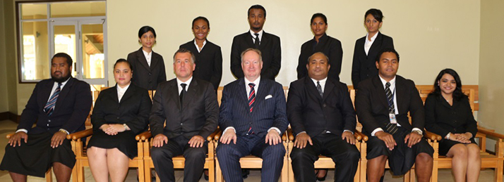 Team Genereal Crimes Division with DPP Mr. Christopher Pryde
